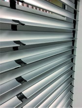 Le tablier lames orientables de la gamme Solar by Bubendorff